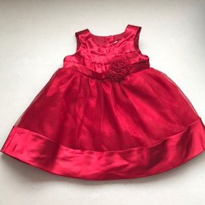 5/$25 GEORGE Dress with Rosette and Sparkle